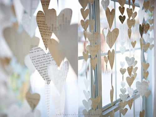 Reclaimed-Book-Page-Heart-Garlands-1