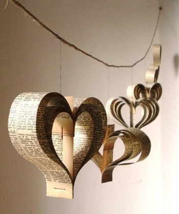 Reclaimed-Book-Page-Heart-Garlands-2
