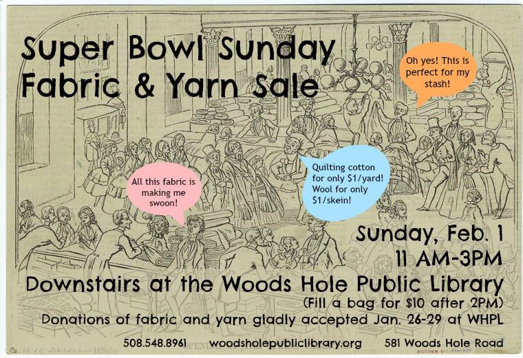 fabric sale flyer
