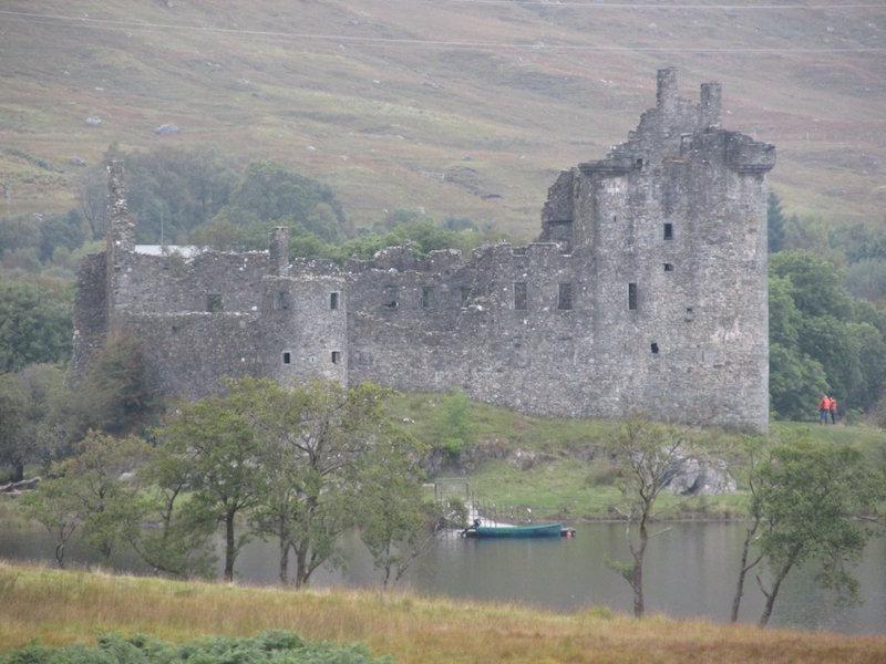 Kilchurn Castle on Loch Awe.