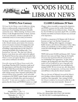 whpl_newsletter_2011_spring